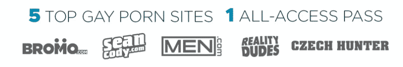 Male Access Sites List - Bromo, Sean Cody, Men.com, Reality Dudes, Czech Hunter